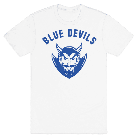 Blue Devils Mens T-Shirt