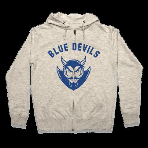Blue Devils Zip Hoodie