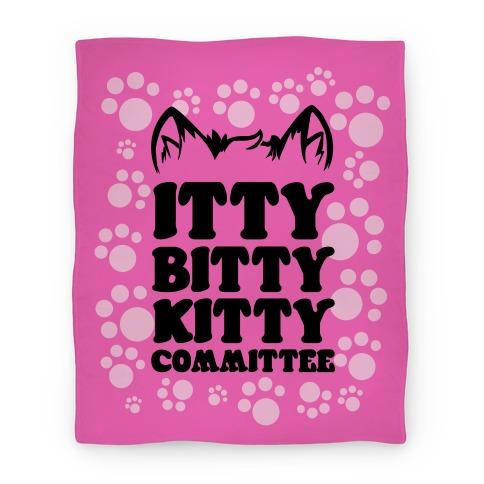 Itty Bitty Kitty Committee Blanket Blanket