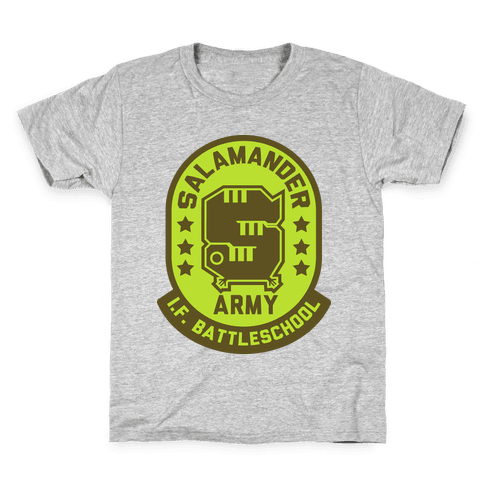 Salamander Army Kids T-Shirt