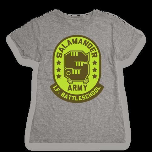Salamander Army Womens T-Shirt