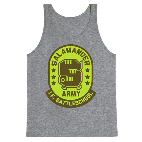 Salamander Army Tank Top