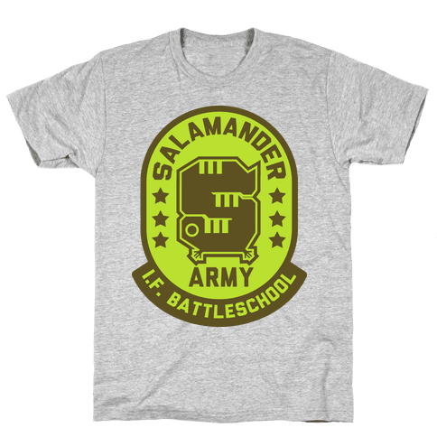 Salamander Army Mens T-Shirt