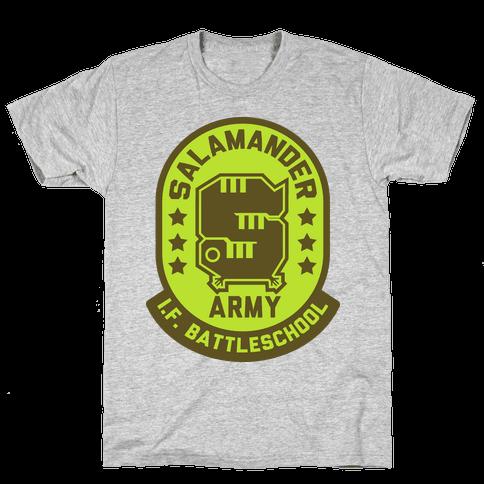 Salamander Army Mens T-Shirt