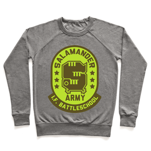 Salamander Army Pullover