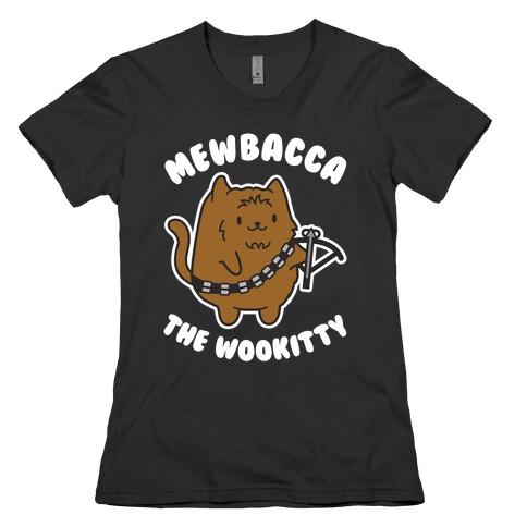 Mewbacca the Wookitty Womens T-Shirt