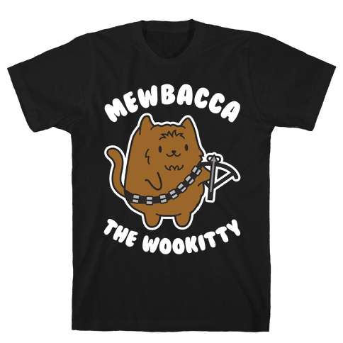 Mewbacca the Wookitty Mens T-Shirt