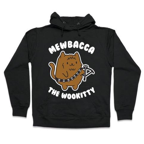 Mewbacca the Wookitty Hooded Sweatshirt