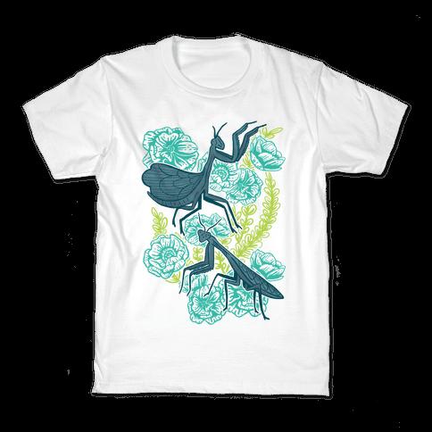 Praying Mantis Kids T-Shirt