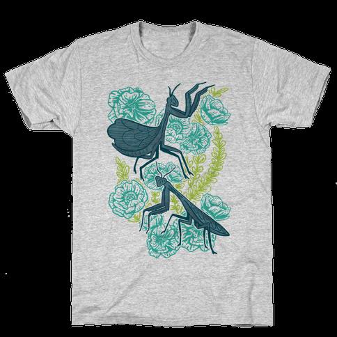 Praying Mantis Mens T-Shirt