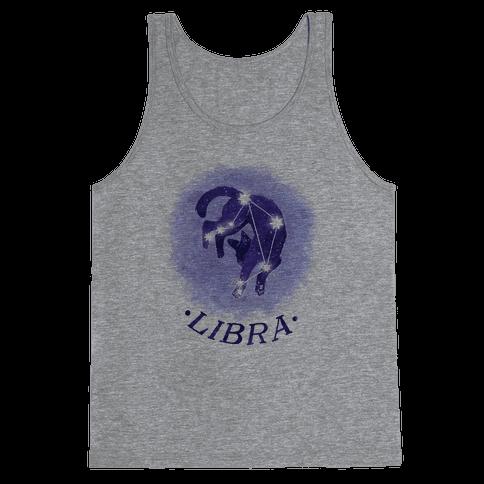 Cat Zodiac: Libra Tank Top