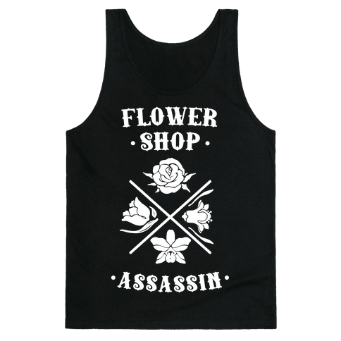 Flower Shop Assassin Tank Top