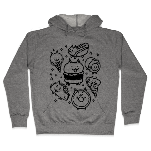 Cat Food Hooded Sweatshirt