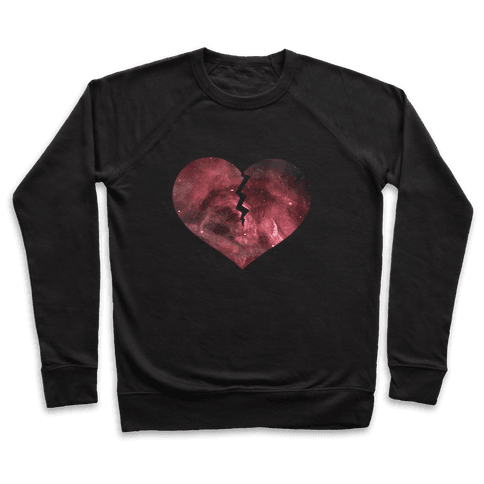 Broken Heart- Galaxy Pullover