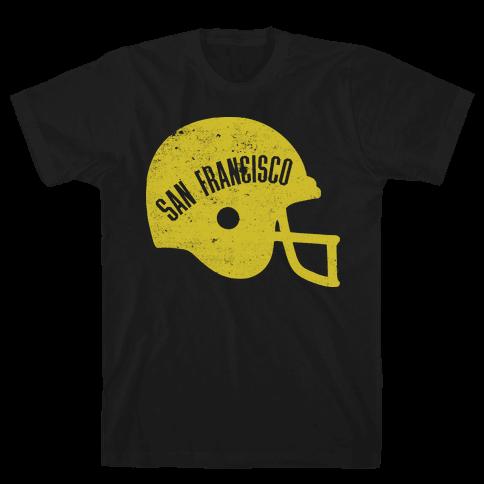 San francisco pride vintage t shirt human for Bespoke shirts san francisco