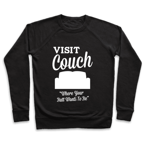 Visit Couch Pullover