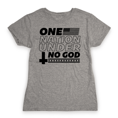 Ungodly Nation Womens T-Shirt
