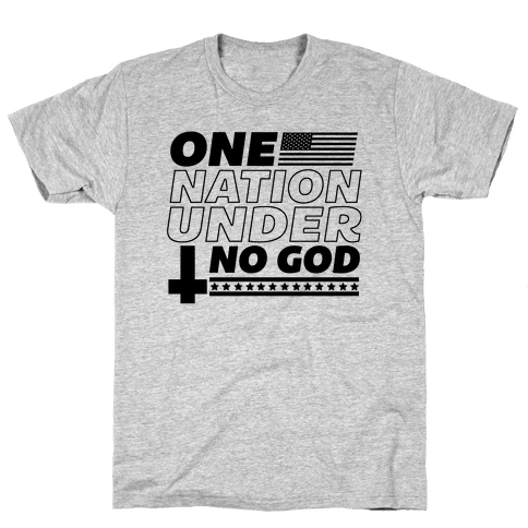 Ungodly Nation Mens T-Shirt