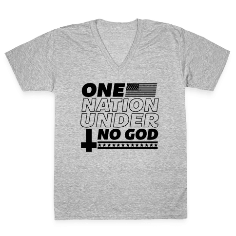 Ungodly Nation V-Neck Tee Shirt