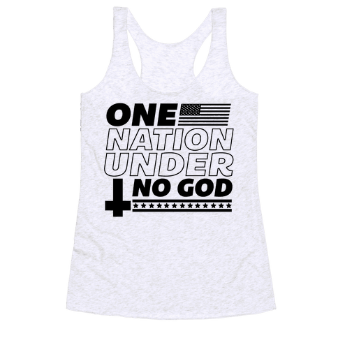 Ungodly Nation Racerback Tank Top