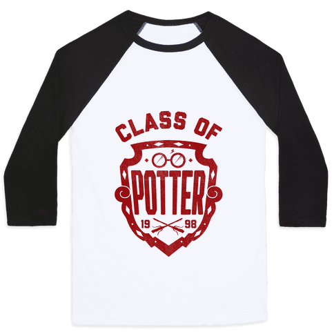 Class of Potter Baseball Tee