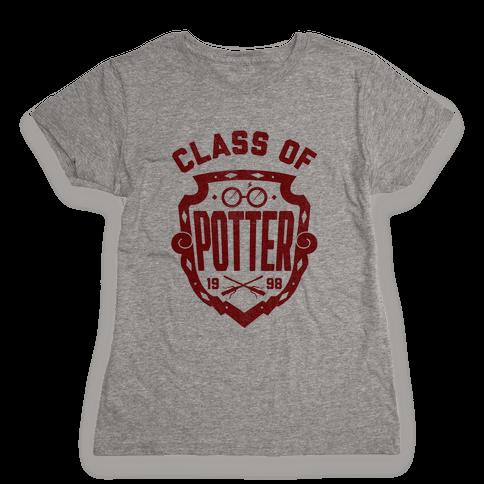 Class of Potter Womens T-Shirt