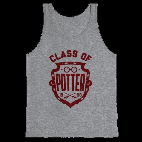 Class of Potter Tank Top
