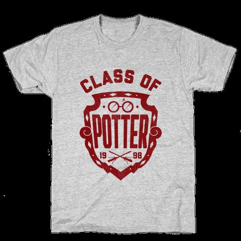 Class of Potter Mens T-Shirt