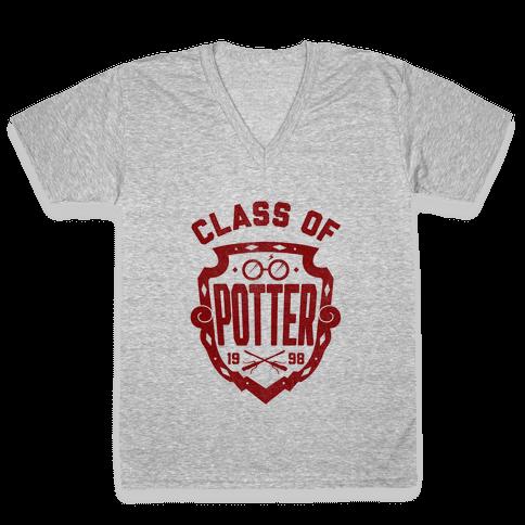 Class of Potter V-Neck Tee Shirt
