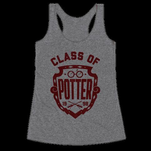 Class of Potter Racerback Tank Top