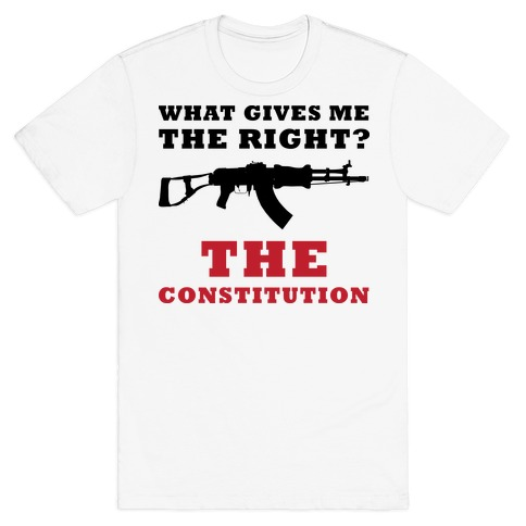 The Constitution (Gun Love) T-Shirt