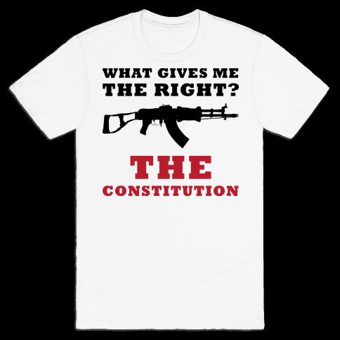 The Constitution (Gun Love) Mens T-Shirt