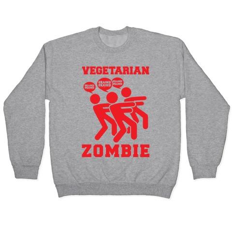 Vegetarian Zombie Pullover
