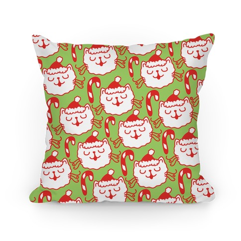 Christmas Cats Pillow