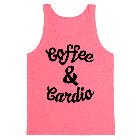 Coffee & Cardio Tank Top