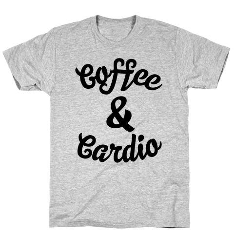Coffee & Cardio Mens/Unisex T-Shirt
