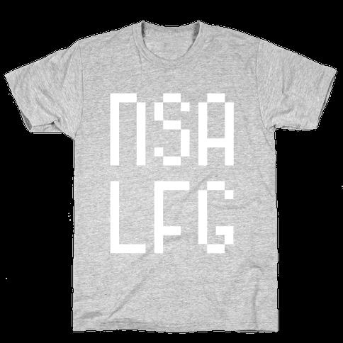 NSA LFG Mens T-Shirt