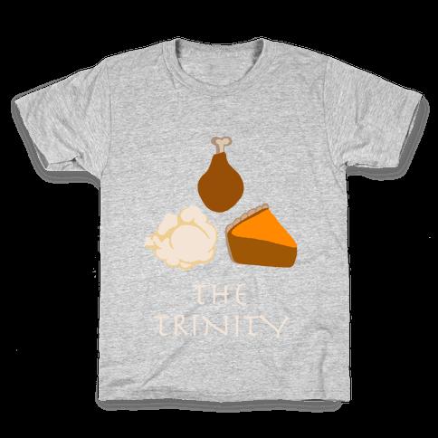 The Thanksgiving Trinity Kids T-Shirt