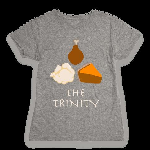 The Thanksgiving Trinity Womens T-Shirt