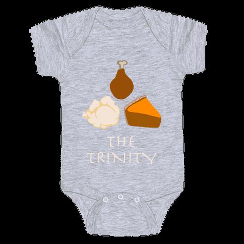 The Thanksgiving Trinity Baby Onesy