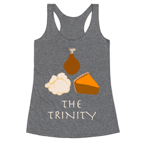 The Thanksgiving Trinity Racerback Tank Top