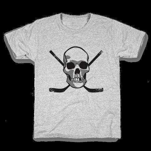 Hockey Skull Kids T-Shirt