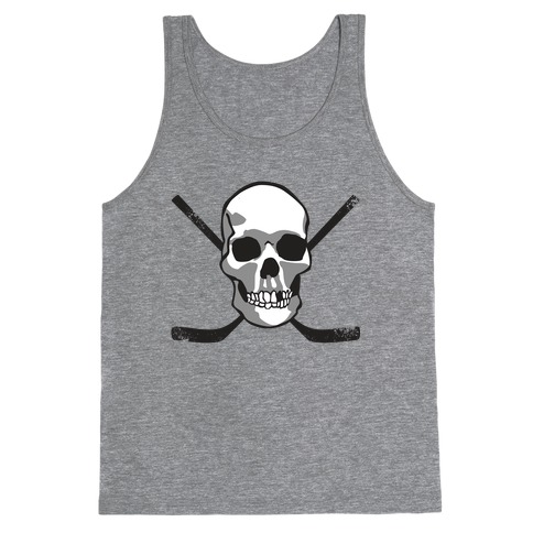 Hockey Skull Tank Top