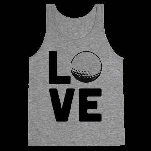 Love Golf Tank Top