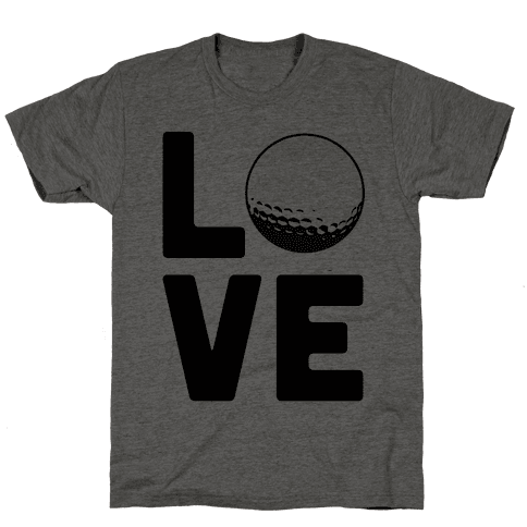 Love Golf Mens T-Shirt