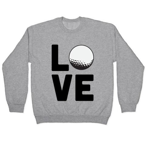 Love Golf Pullover