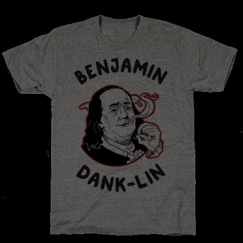 Benjamin Dank-lin Mens T-Shirt