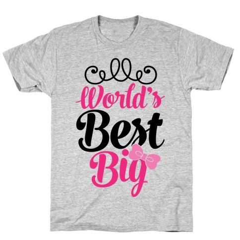 World's Best Big T-Shirt