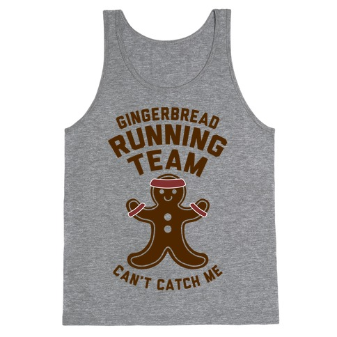 Gingerbread Running Team Tank Top