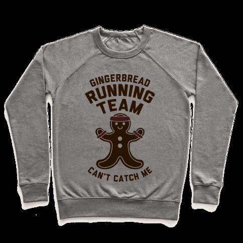 Gingerbread Running Team Pullover
